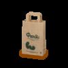 Χάρτινη Σακούλα Οικολογική με χάρτινη λαβή