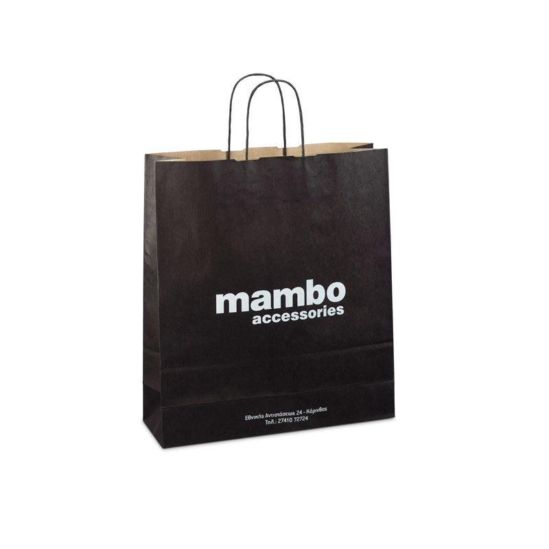 Paper bags with background
