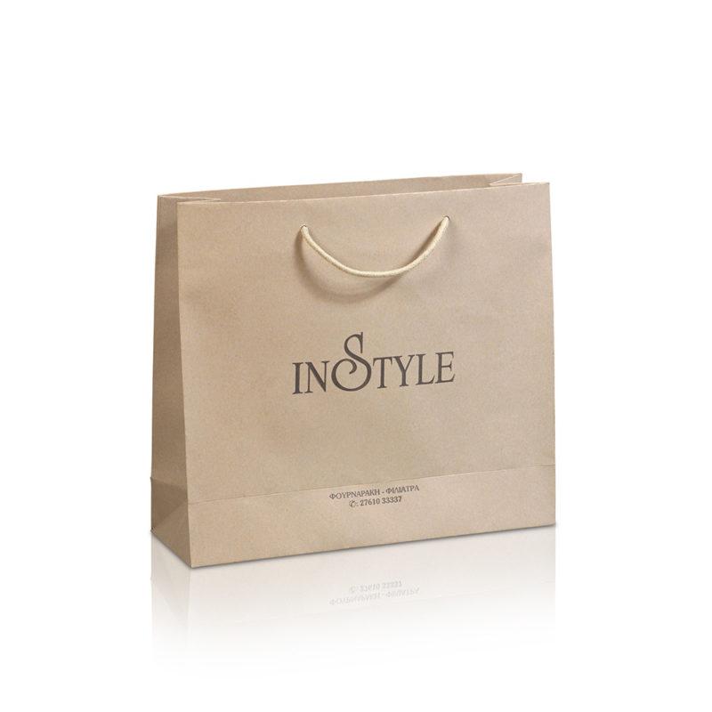 Luxurymatte paper bag IN-STYLE
