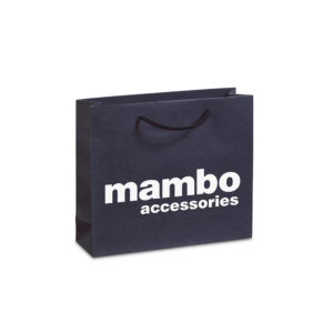 Luxury matte paper bag MAMBO