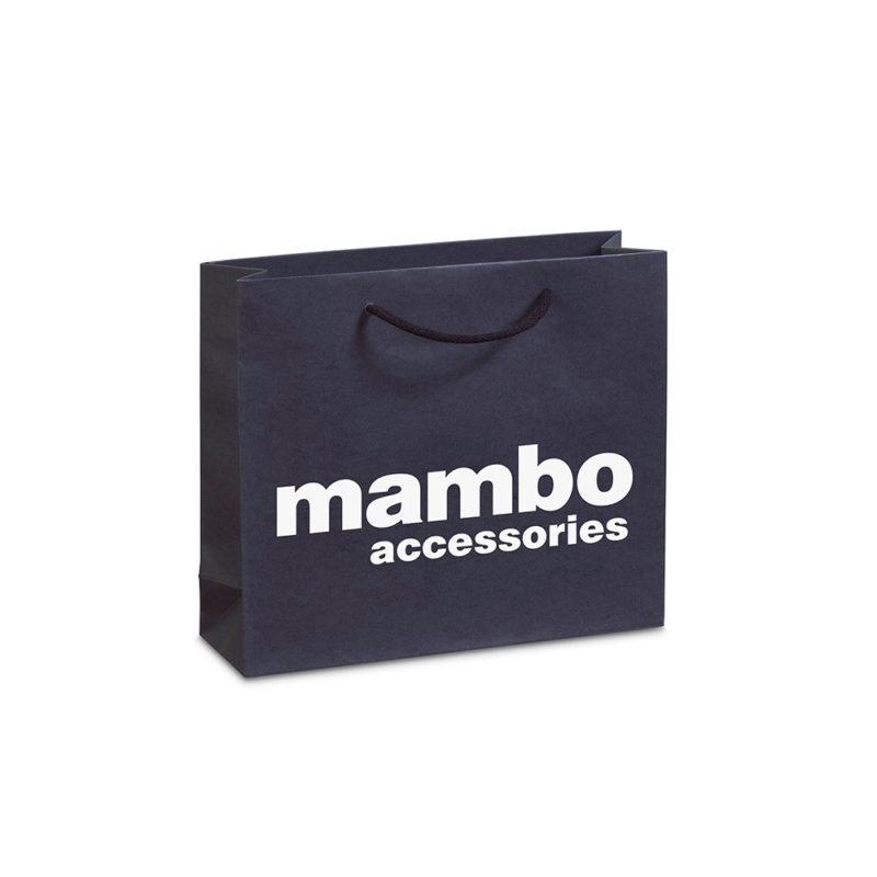 Χάρτινες τσάντες πολυτελείας ματ MAMBO