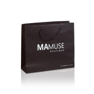 Χάρτινες τσάντες πολυτελείας ματ MAMUSE