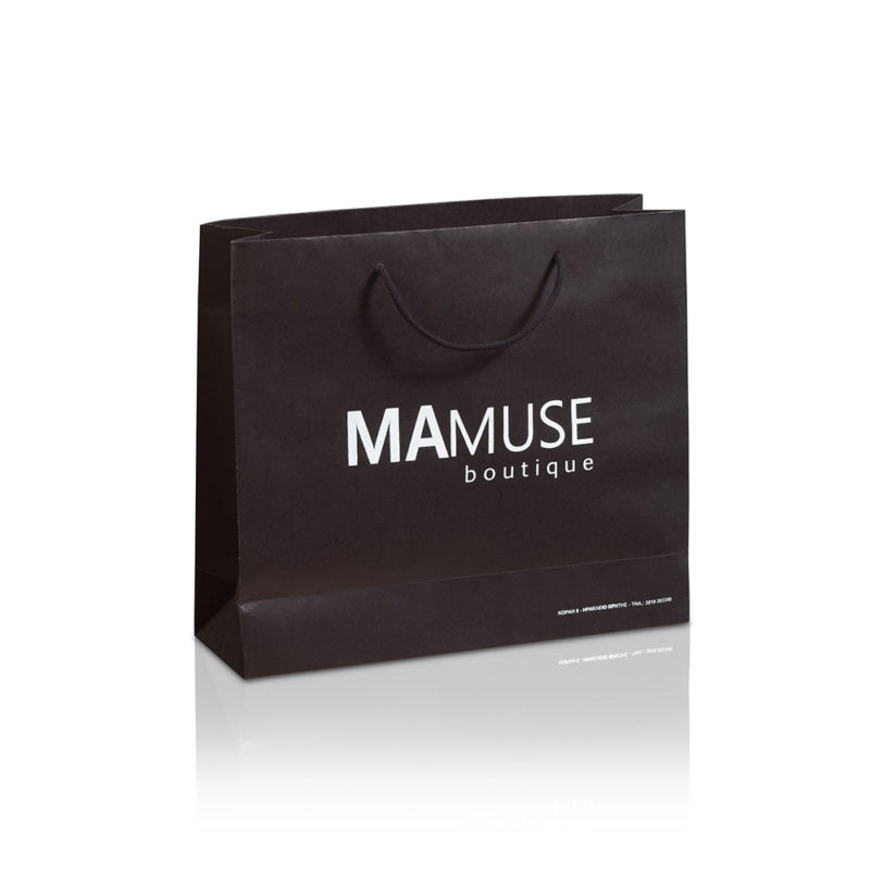 Luxury matte paper bags MAMUSE