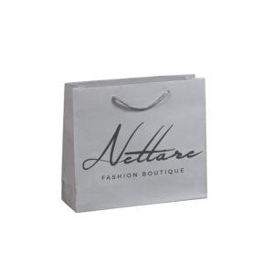 Χάρτινες τσάντες πολυτελείας ματ Nettare