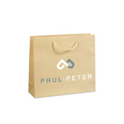 Χάρτινες τσάντες πολυτελείας ματ Paul-Peter