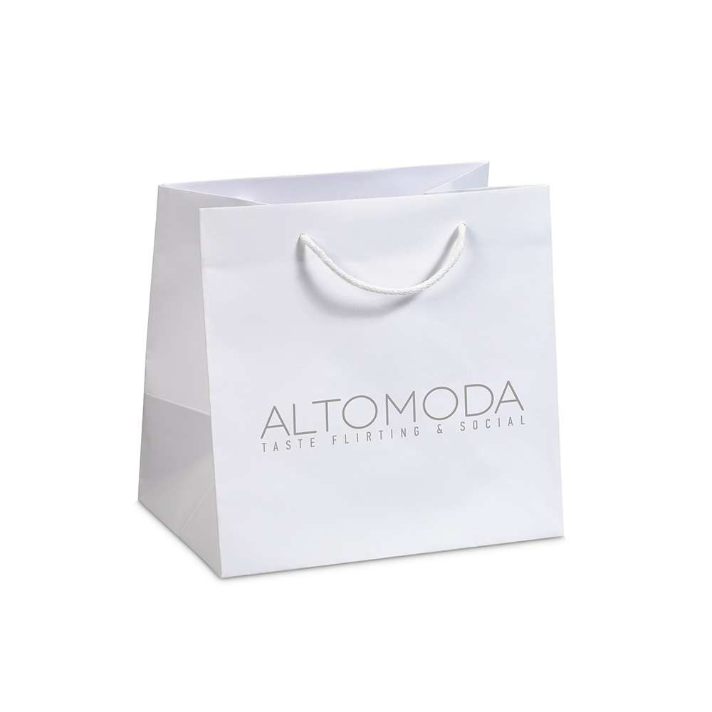 Paper bags for delivery & pastry shops altomoda