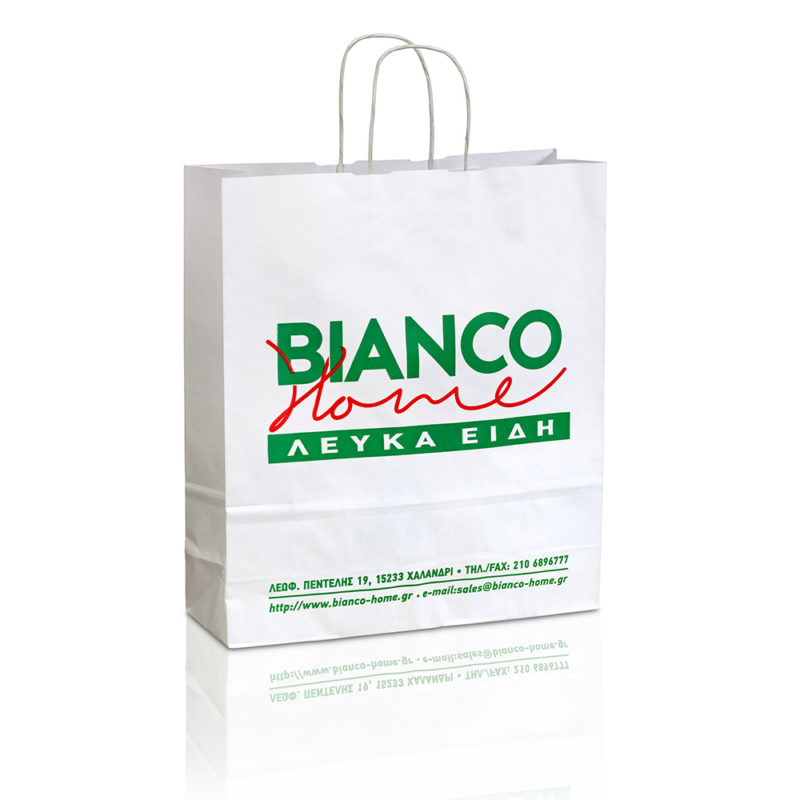 paper bags blanco