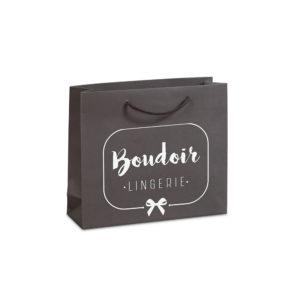 Χάρτινες τσάντες πολυτελείας ματ boudoir