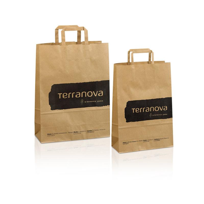 χάρτινες σακουλες terranova