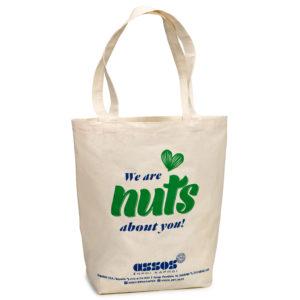 641549eaa5 Τσάντα πάνινη με πάνινο χεράκι λαβή
